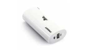 Oval Portable Power Bank - 4400mAh