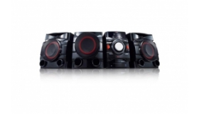 LG 700W 2.1ch Mini Shelf System with Built-in Subwoofer and Bluetooth