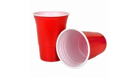 Big Red Party Cup (Pack of 15)