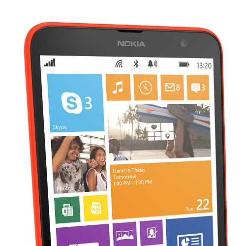 Lumia 1320 with Microsoft Office