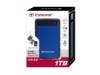 Transcend StoreJet 25H3 External Hard Drive