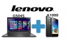 Lenovo G5045 Laptop plus Lenovo A1000 Smartphone