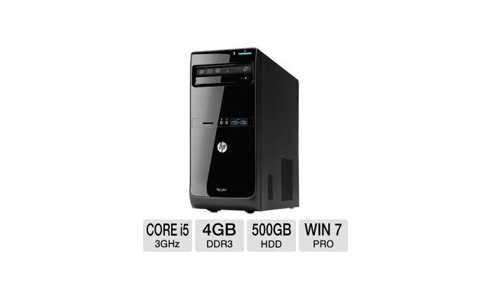 HP PRO 3500 DESKTOP PC - INTEL Core-i5 CPU ONLY : Zimall