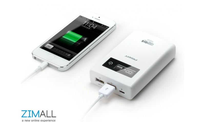 Oval Portable Power Bank - 7500mAh