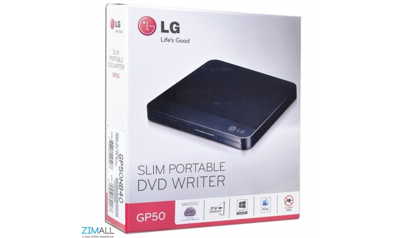 LG Slim Portable DVD Rewriter