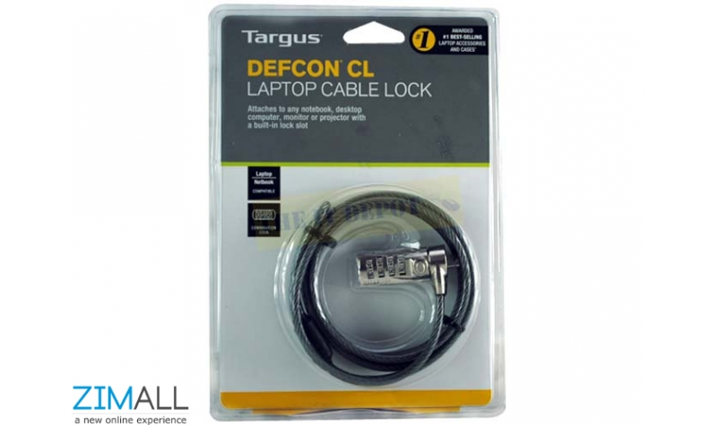 Targus Defcon CL Laptop Cable Lock