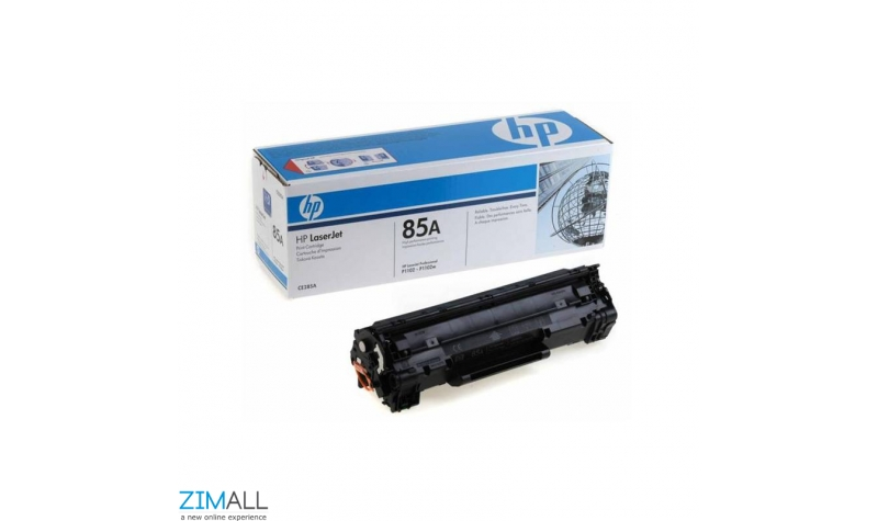 HP 85A LaserJet Black Toner Cartridge