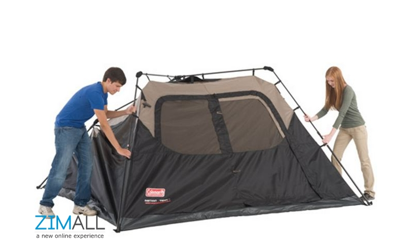 Coleman 6 Person Instant Tent  sc 1 st  Zimall & Coleman 6 Person Instant Tent - Zimall Warehouse : Zimall ...