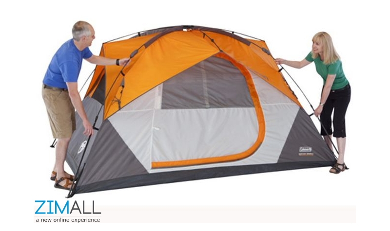 Coleman 7 Person Instant Dome Tent  sc 1 st  Zimall & Coleman 7 Person Instant Dome Tent - Zimall Warehouse : Zimall ...