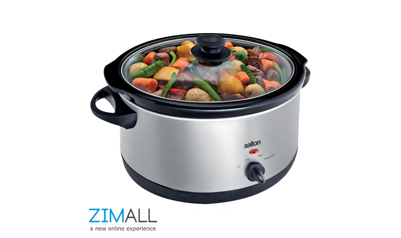 Salton 6.5L Manual Slow Cooker