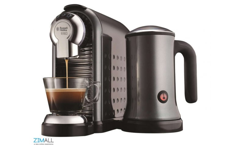 Russell Hobbs Vivace Capsule Coffee Maker And Frother : Russell Hobbs Vivace Capsule Coffee Maker and Frother - The Premium Store : Zimall Zimbabwe s ...