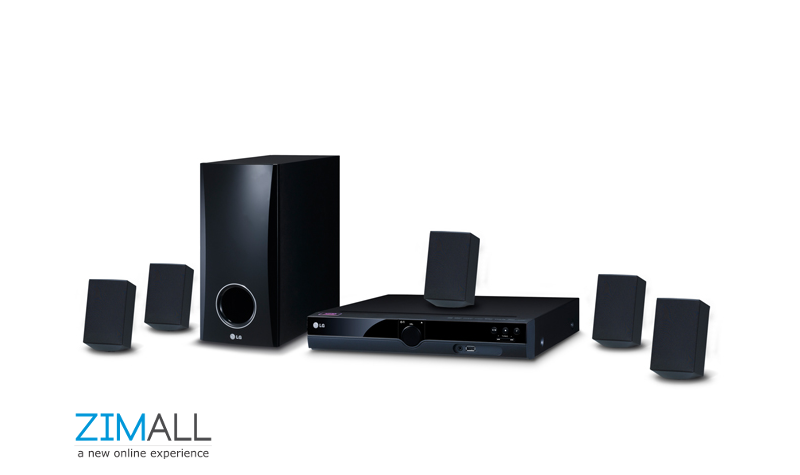 LG 300W 5.1Ch DVD Home Theater System