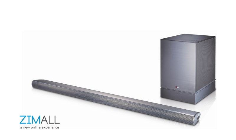 LG 4.1ch 320W Soundbar With Wireless Subwoofer NB4540