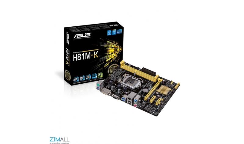 Asus H81M-K Custom Desktop Computer