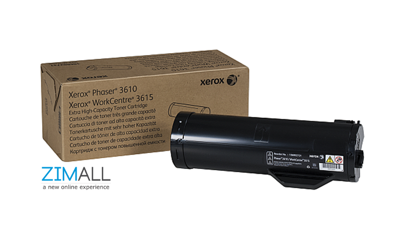 Xerox 106R02732 Toner Cartridge for Phaser 3610 Extra High Capcity