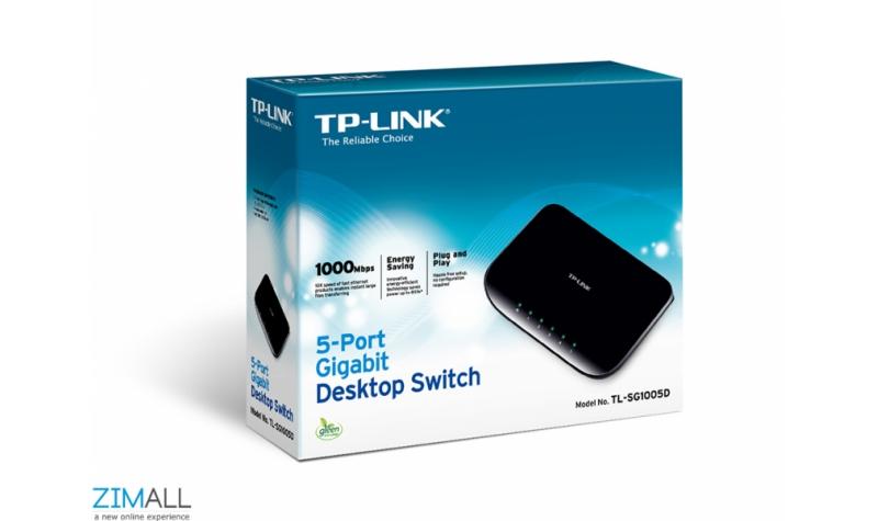TP-LINK 5-Port Gigabit Desktop Switch