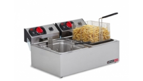 Double Pan Electric Fryer