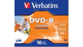 Verbatim Jewel Case Printable DVD-R