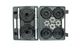 20kg Epoxy Dumbbell Set