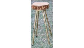 Jacaranda Top Bar Stool