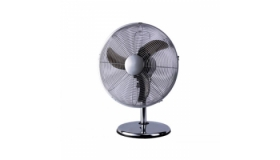 R Hobbs RHCDF20 Chrome Desk Fan