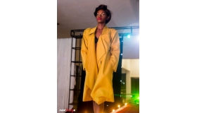 Cashmere Wool Suiting Trench Coat