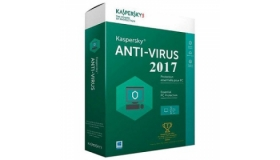 Kaspersky Anti-virus 2017- 2 Users Software Package