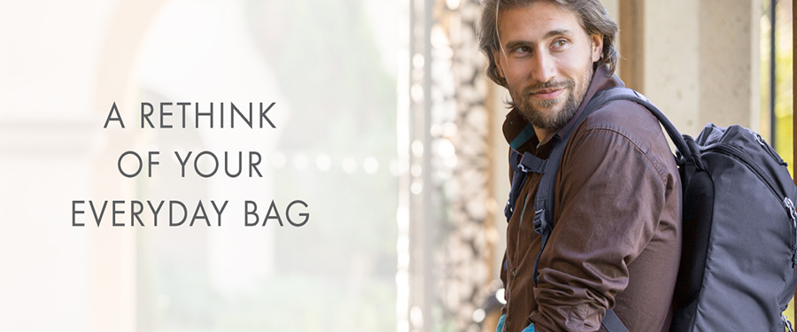 Rethink your laptop bag. Get  more space, comfort, security, reliabilty from your bag